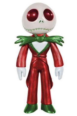Nightmare Before Christmas Hikari Sofubi 'Xmas Jack Skellington 19cm' Vinyl Action Figure